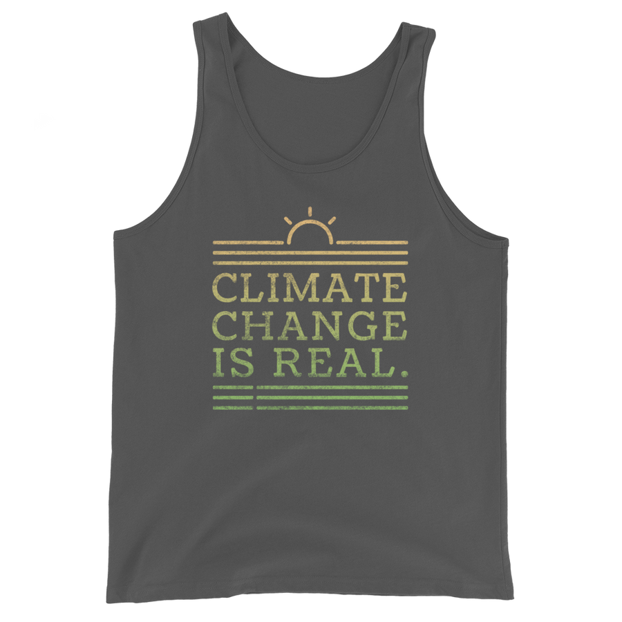 Climate Change Is Real - Mens Tank Top