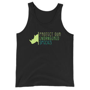 Protect Our Endangered Species - Mens Tank Top