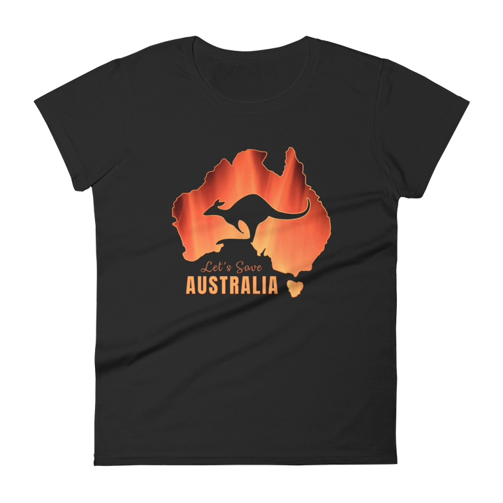 Let's Save Australia - Womens T-shirt