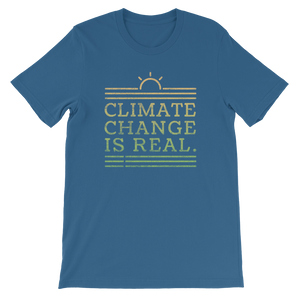 Climate Change Is Real - Mens T-shirt