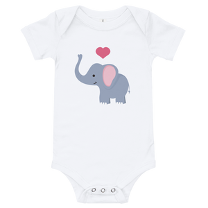 I ❤ Elephants - Infant One Piece (3-24M)