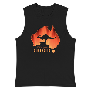 Let's Save Australia - Mens Muscle Shirt