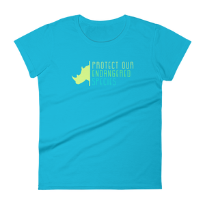 Protect Our Endangered Species - Womens T-shirt