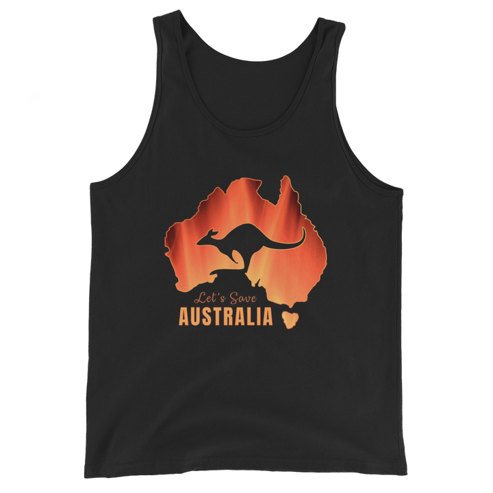 Let's Save Australia - Mens Tank Top