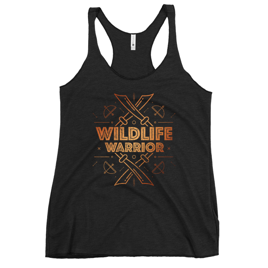 Wildlife Warrior - Womens Racerback Tank