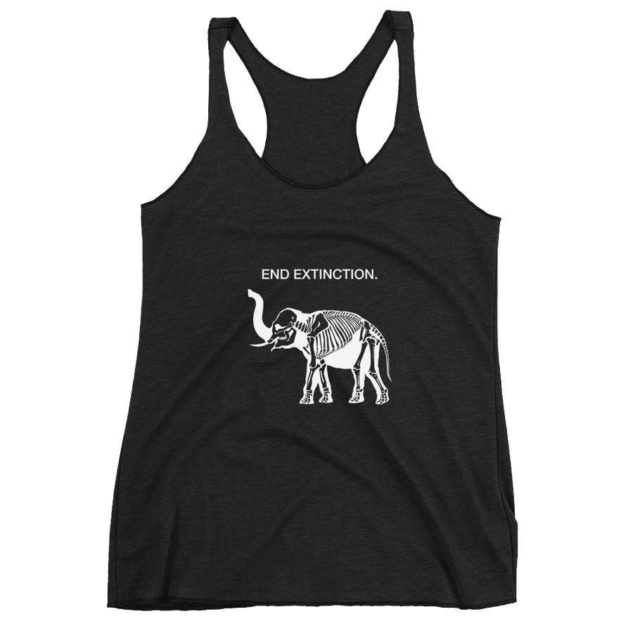 End Extinction - Womens Racerback Tank