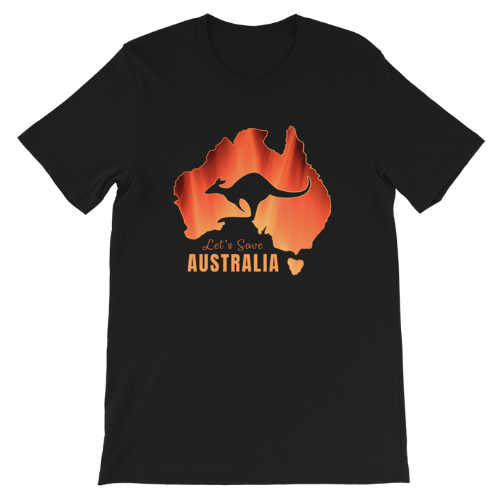 Let's Save Australia - Mens T-shirt