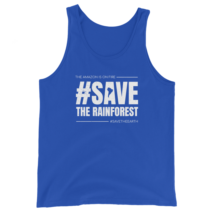 #SaveTheRainforest - Mens Tank Top