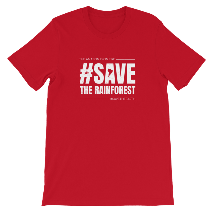 #SaveTheRainforest - Mens T-shirt