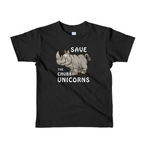 Chubby Unicorns - Kids T-shirt (2-6yrs)