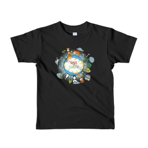 Save the Earth - Kids T-shirt (2-6yrs)