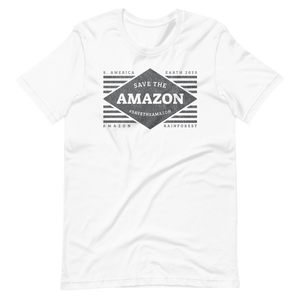 Save The Amazon - B&W - Mens T-shirt