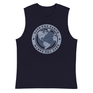 Save The Earth - Mens Muscle Shirt