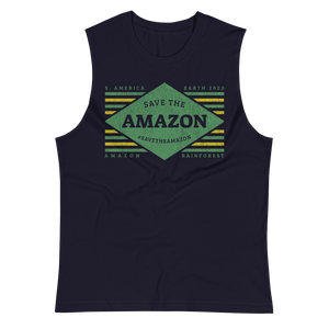 Save The Amazon - Mens Muscle Shirt
