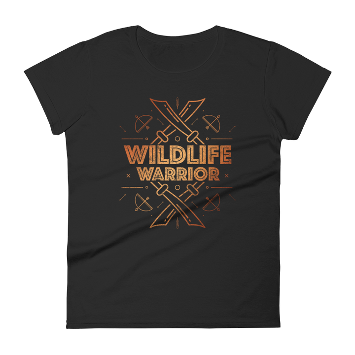 Wildlife Warrior - Womens T-shirt