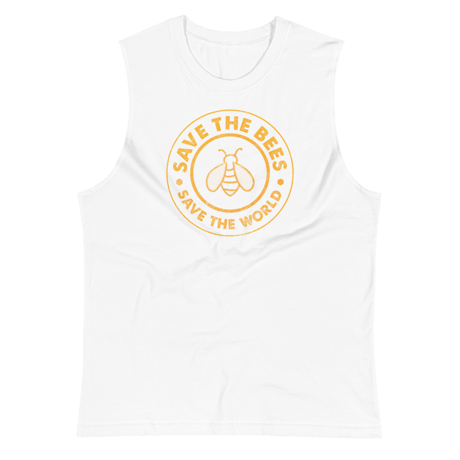 Save the Bees - Mens Muscle Shirt
