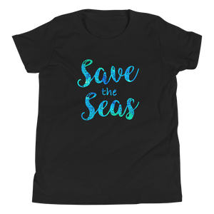 Save the Seas - Youth Short Sleeve T-Shirt