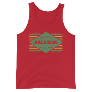 Save The Amazon - Mens Tank Top