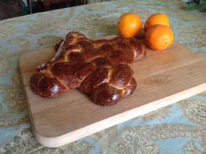 Holiday Orange Challah Bread | Pareve<br>PreOrder to ship 4/15 - 4/16 and 4/29 - 4/30