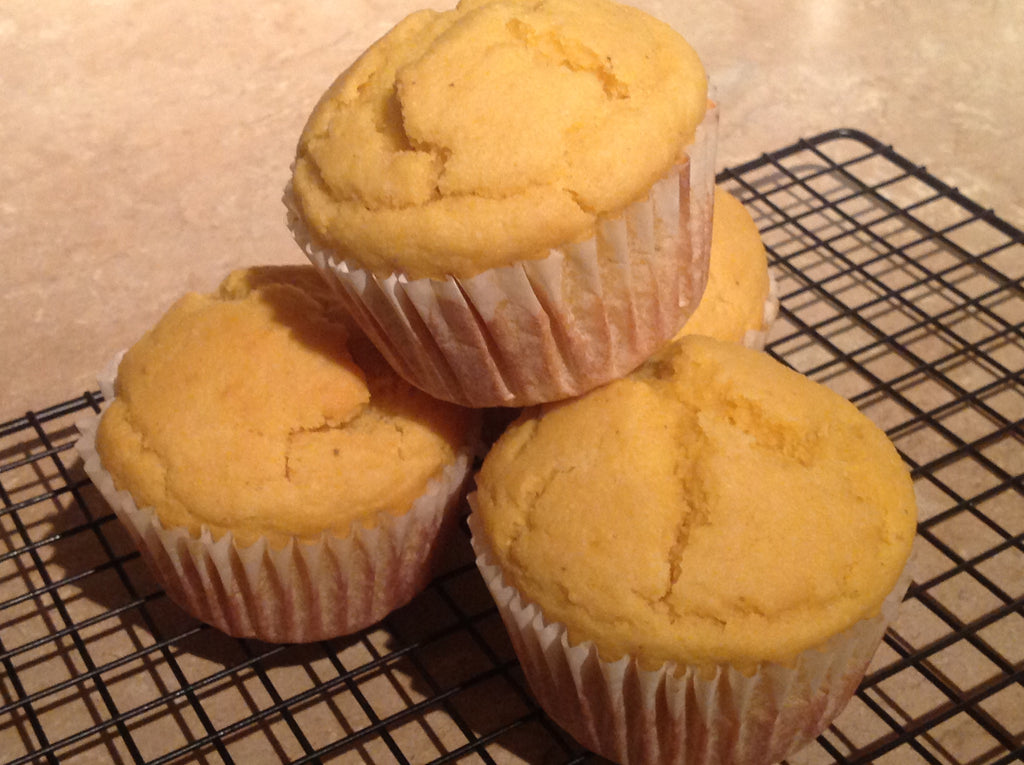 Orange Citrus Corn Muffins