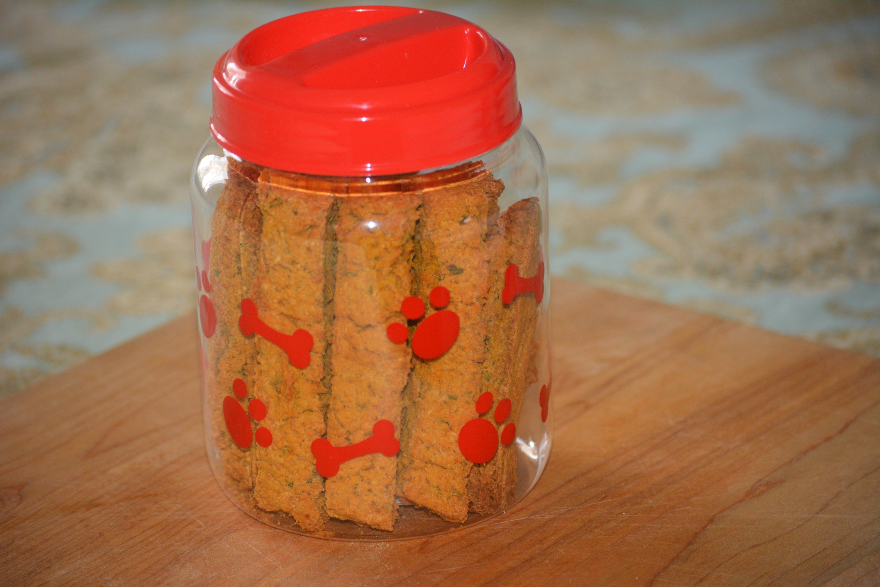 Sweet Potato Oatmeal Biscotti for Pups 2