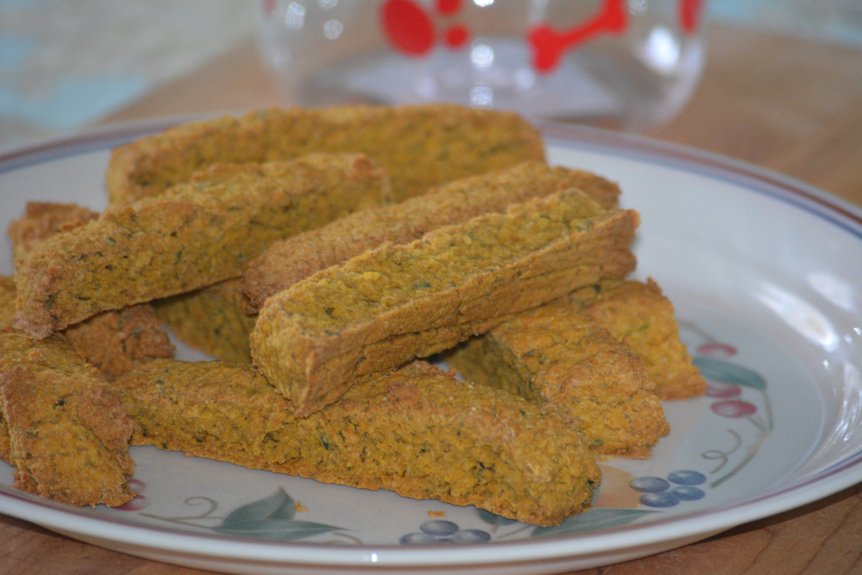 Sweet Potato Oatmeal Biscotti for Pups 1