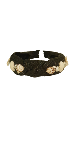 Headband Seashell Black