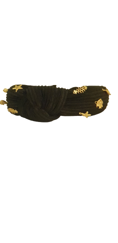 Headband Black Seastar