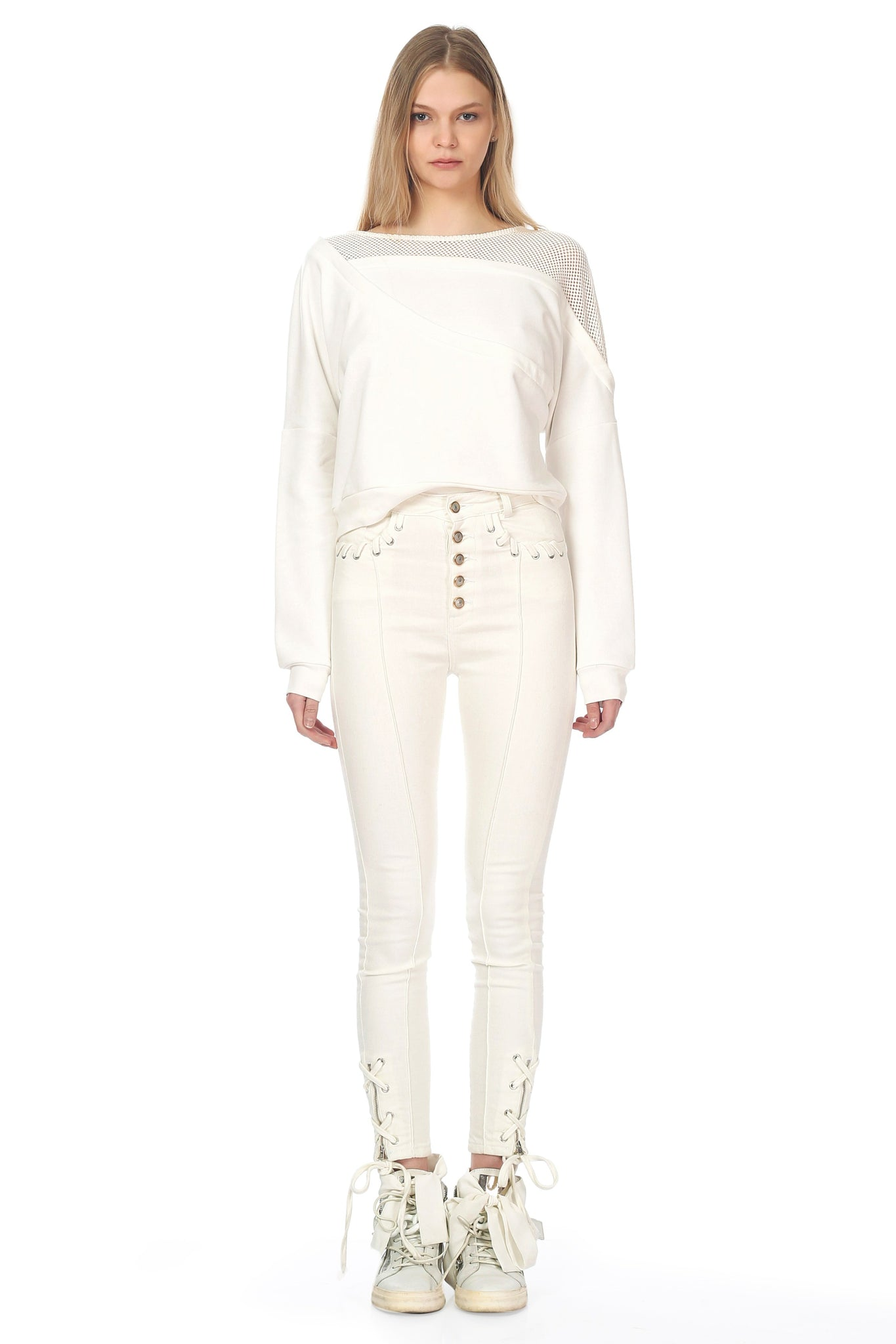 Aelin Sweatshirt White