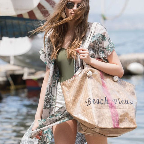 Beach Please Beach Bag