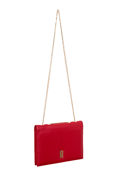 Fancy Note Bag Red-Pink Mirror