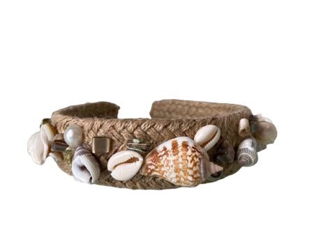 Headband Seashell Brown