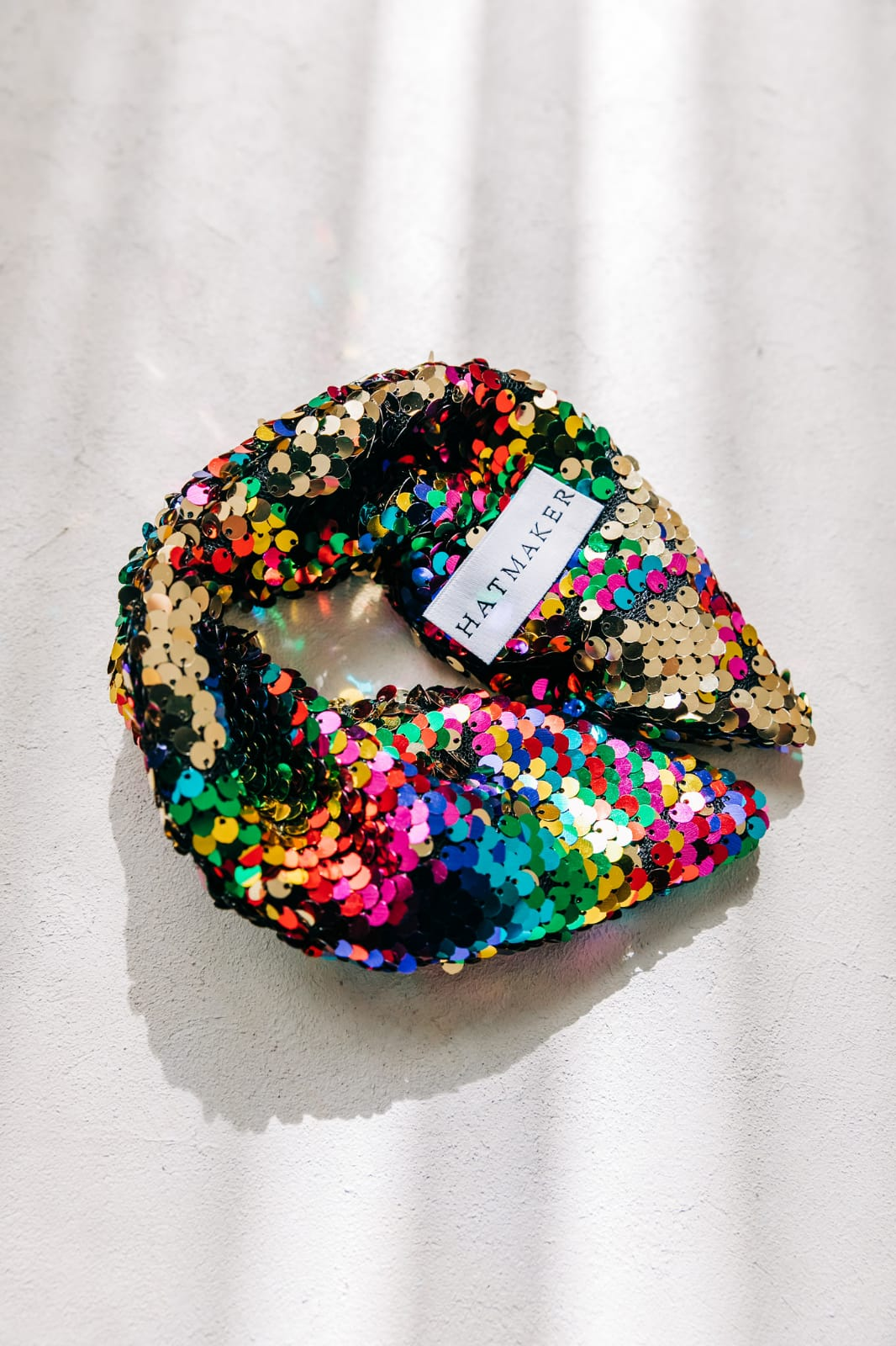 Headband Disco Rainbow