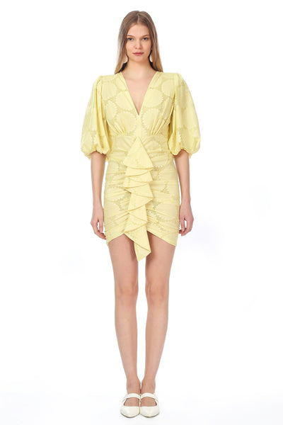 Jana Dress Yellow