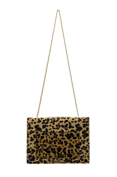 Fancy Note Bag Leopard Mirror