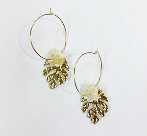 STATEMENT PALM HOOPS