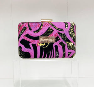 PURPLE RAIN ELEI CLUTCH