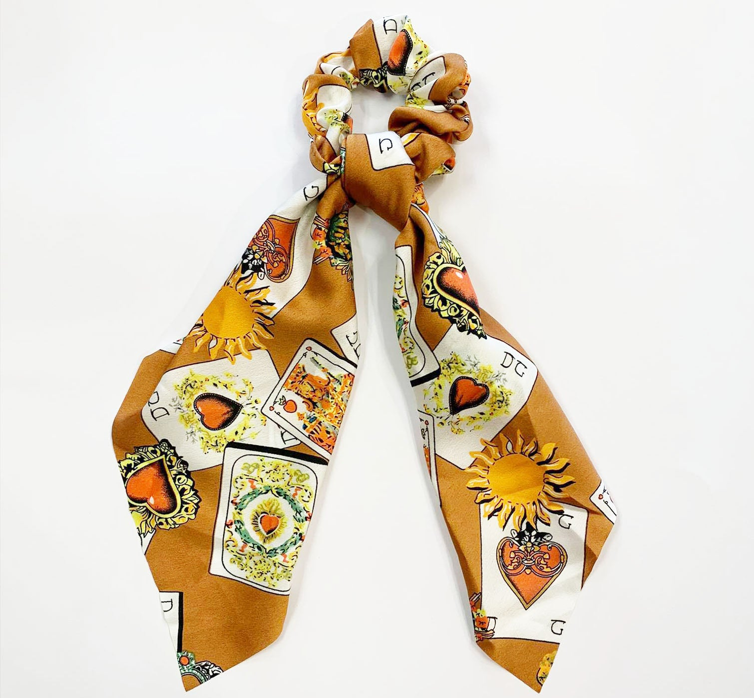 ACE BROWN HAIR SCARF