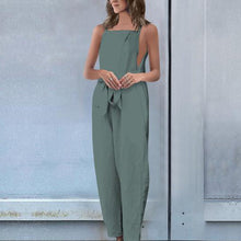 Load image into Gallery viewer, Fashion Sleeveless Pockets Vintage Jumpsuits