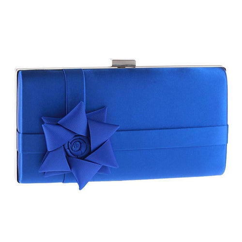 Ribbon Floral Gift Evening Clutch Bag