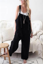 Load image into Gallery viewer, Casual Loose Plain Jumpsuit