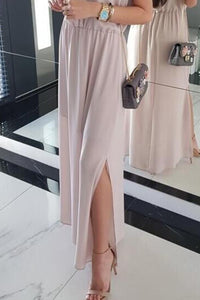 Sexy Fashion Pink Sleeveless Maxi Dress