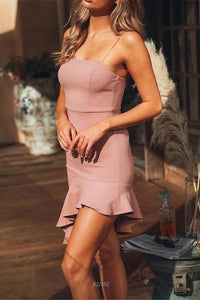 Sexy Plain Sleeveless Bodycon Mini Dress