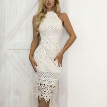 Load image into Gallery viewer, Elegant Sleeveless Sexy Lace Bodycon Dress