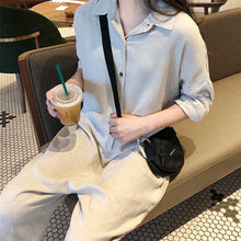 Load image into Gallery viewer, Fashion Casual Cotton/Linen Loose Jumpsuits