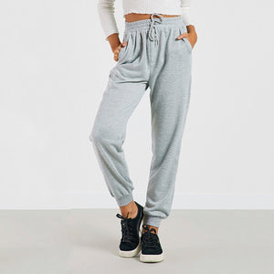 Fashion Elastic Sports Casual Knit Pants