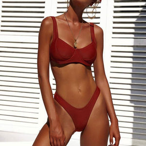 Summer Plain Beach Bikini