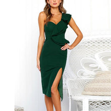 Load image into Gallery viewer, Sexy Sleeveless V-Neck Pencil Dress