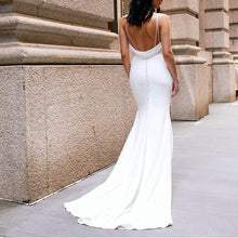 Load image into Gallery viewer, Sexy Sling V-Neck Bridesmaid   Dress Dress