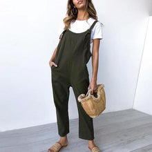Load image into Gallery viewer, Casual Button Waist Waist Jumpsuit